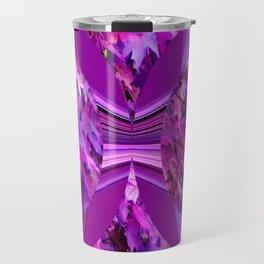 Sweetgum Radial Abstract Travel Mug