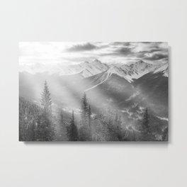 Crystal skies Metal Print