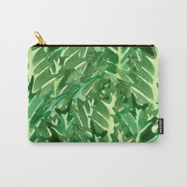Holly Jolly Leaves (Large Pattern) Carry-All Pouch