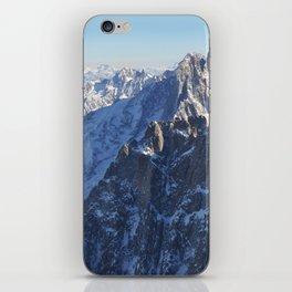 Mont Blanc, Chamonix. iPhone Skin