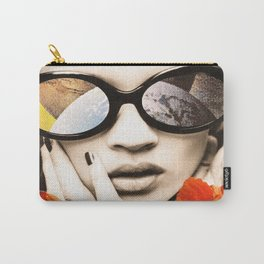 poppy pop (kate Moss) Carry-All Pouch
