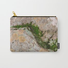 Yin Yang Moss Stone Carry-All Pouch