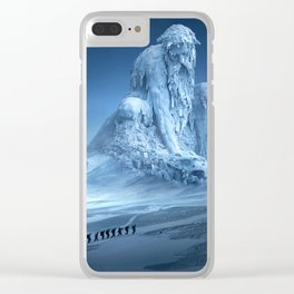 Human Wanderer Clear iPhone Case