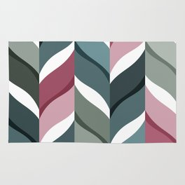 Foliage Pattern Rug