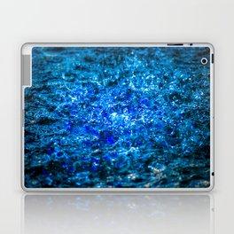 Water Color - Dark Blue - Navy Laptop & iPad Skin