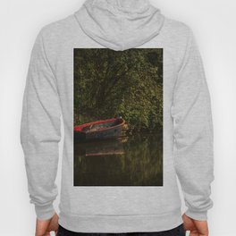 Dinghy On The Oxford Canal Hoody