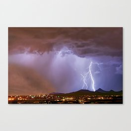 Monsoon Full Package Deal Canvas Print