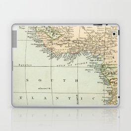 West  & North Africa Vintage Map Laptop & iPad Skin