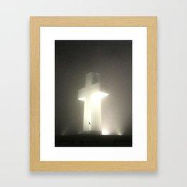Faith will Always Shine Framed Art Print