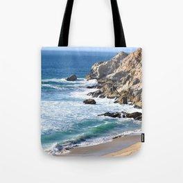 CALIFORNIA COAST - BLUE OCEAN Tote Bag