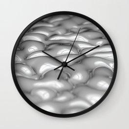 Milk Bubbles Wall Clock