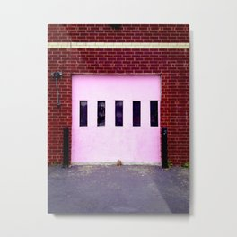 Pink Door #1 Metal Print