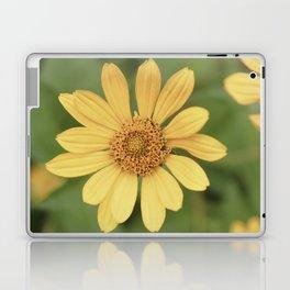 Beautiful Yellow Vintage Flower Laptop & iPad Skin