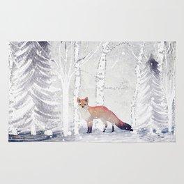 FOX FOX FOX Rug