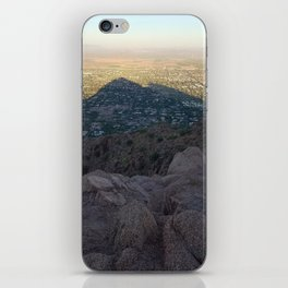 In the Shadow of a Mountain iPhone Skin