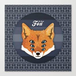Six Eyed Fox Canvas Print