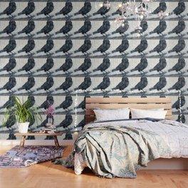 El ve a través del cuervo y controla la niebla Wallpaper