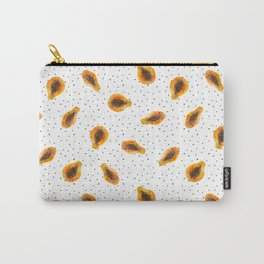 Papaya vibes || watercolor Carry-All Pouch
