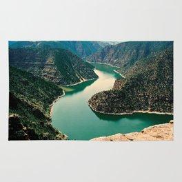 Flaming Gorge, Green River Rug