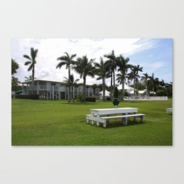 A Tarpon Afternoon Canvas Print