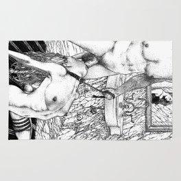 asc 707 La rivière de nacre (The Jackhammer) Rug