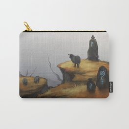 Ruins - orange Carry-All Pouch