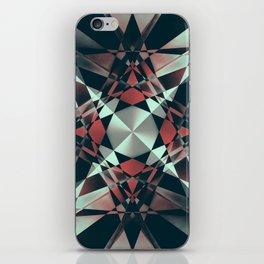 Crystal Convolution iPhone Skin