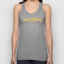 Wisconsin In Cheese We Trust Unisex Tank Top