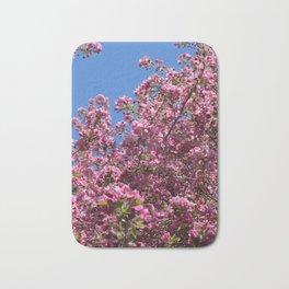 Spring blossoms pink Bath Mat