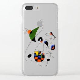 Joan Miro Clear iPhone Case