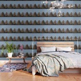 Smith Rock Snowbound Wallpaper