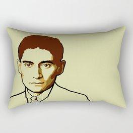 Franz Kafka Rectangular Pillow
