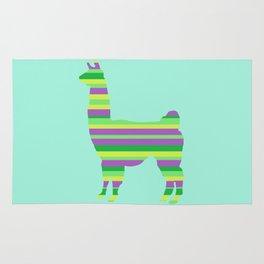 Llama Stripes Rug