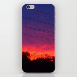 Ombre Sunset iPhone Skin