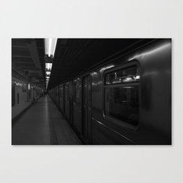 New York Subways Canvas Print