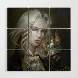 Alucard. Castlevania Symphony of the Night Wood Wall Art