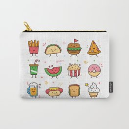 Food Doodle Carry-All Pouch