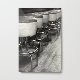 A Seat at the Bar Metal Print