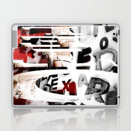 LETRAS - BONS ARES 2 Laptop & iPad Skin