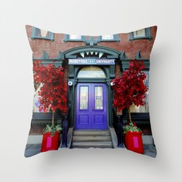 Monsters University Grounds I Throw Pillow