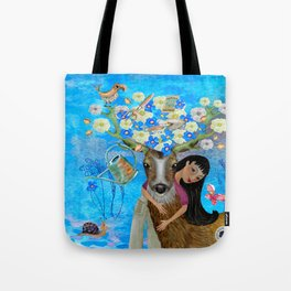 You belong amongst the Flowers Tote Bag