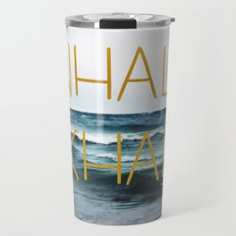 Inhale Exhale Travel Mug