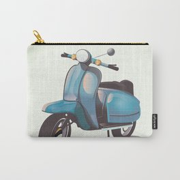 Vintage Scooter Carry-All Pouch
