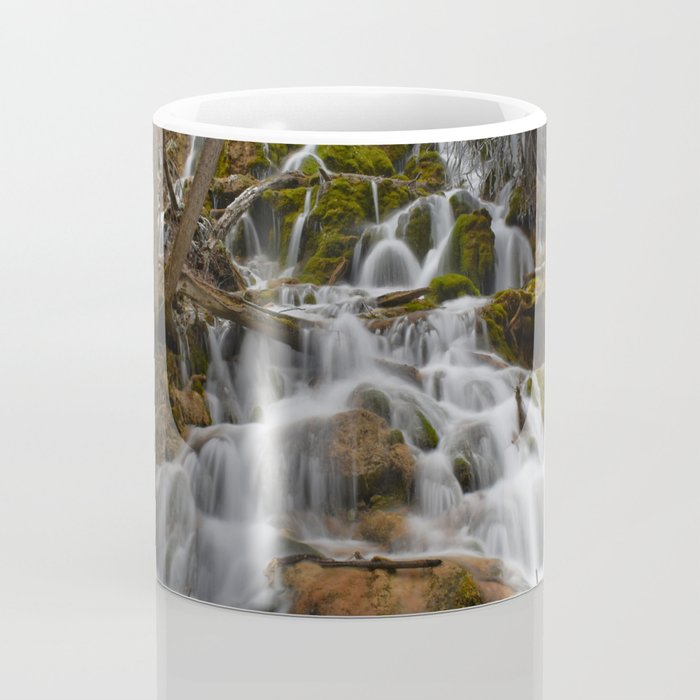 Water rushing from the mountains of Colorado Coffee Mug