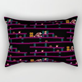 Donkey Kong Retro Arcade Gaming Design Rectangular Pillow
