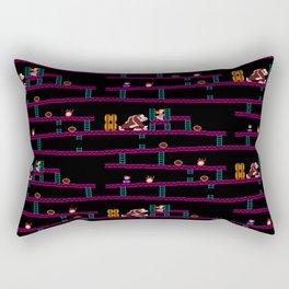 Donkey Kong Retro Arcade Gaming Design Rectangular Pillow