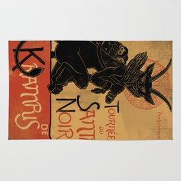 Merry Krampus Rug