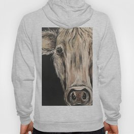 Cozy Cow in the Night Hoody