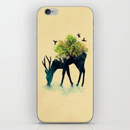 Watering (A Life Into Itself) iPhone Skin