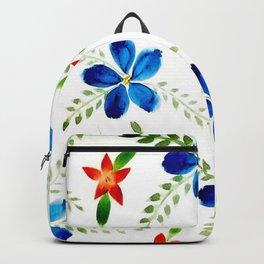 Breezy florals Backpack